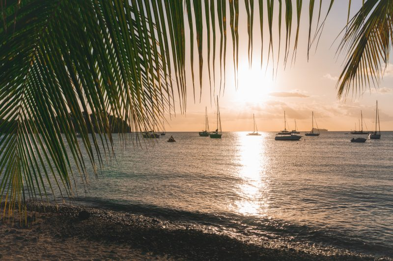 Sunset in Trois-Ilets - Martinique - One Second Journal