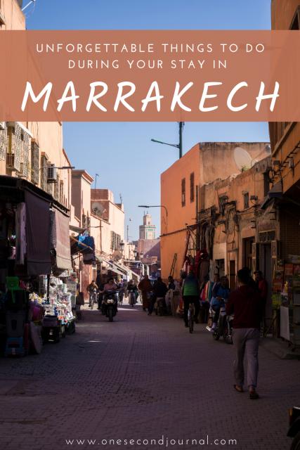 Marrakech souk - One Second Journal