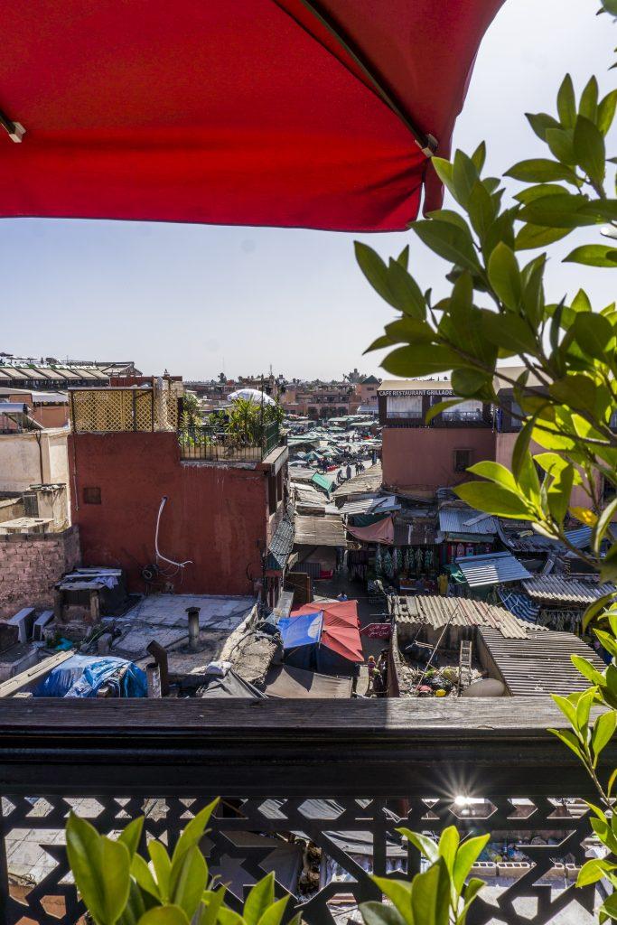 Incontournables lors d'un séjour à Marrakech - Place Jemaa el Fna
