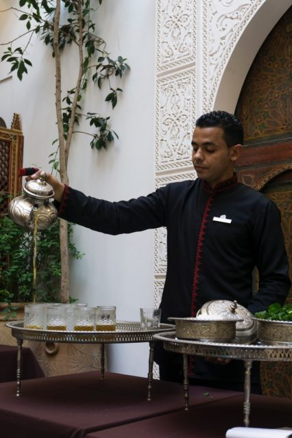 Moroccan mint tea - La Maison Arabe