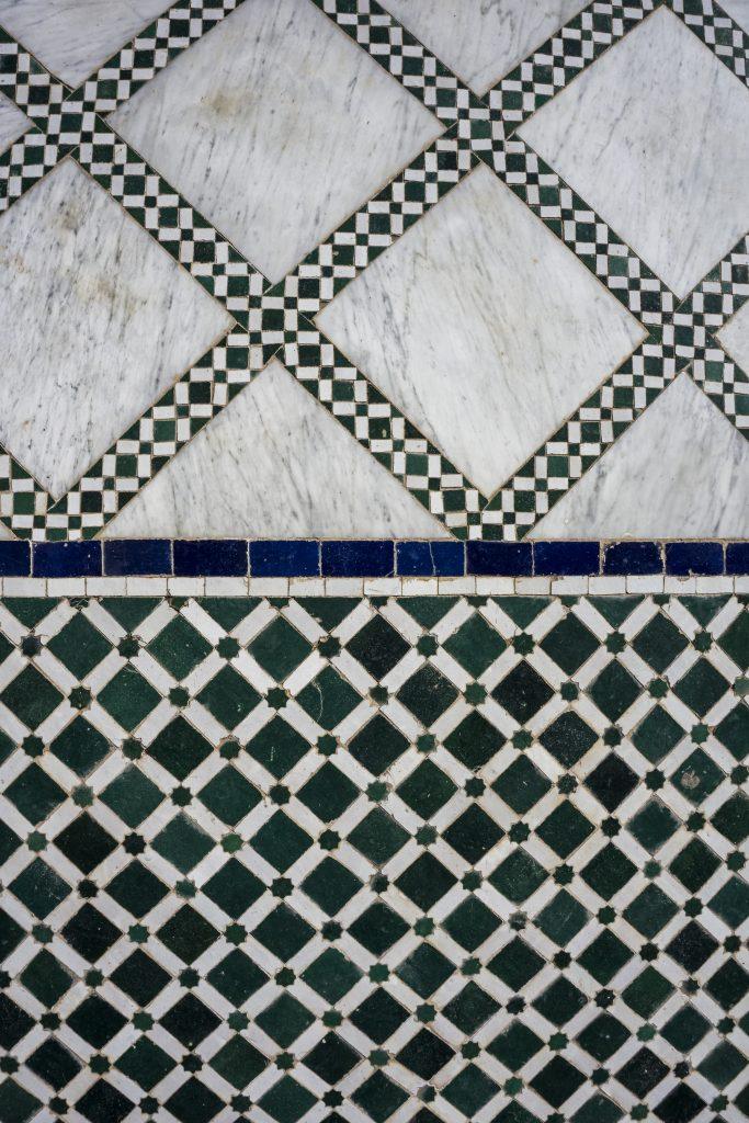 Palais de la Bahia - incontournables lors d'un séjour à Marrakech