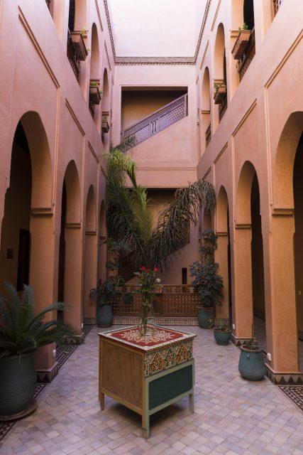 Riad Bahia Salam - Patio - les incontournables lors d'un séjour à Marrakech