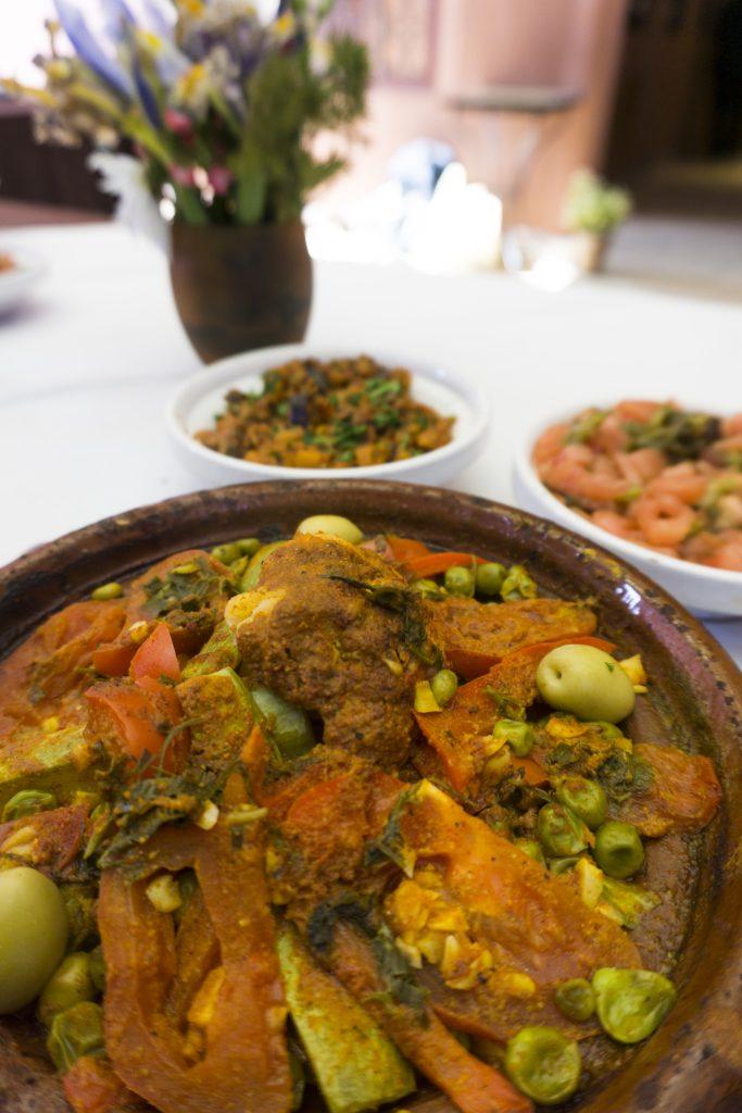 Tajine de légumes - Maison Arabe -Marrakech