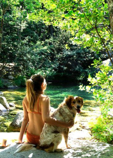 polischellu-waterfalls-corsica-dog
