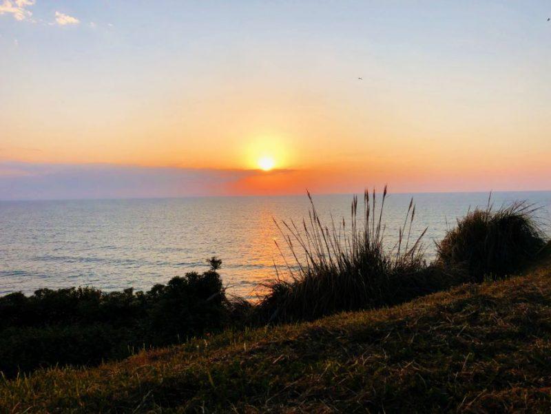 sunset-ocean-biarritz-france
