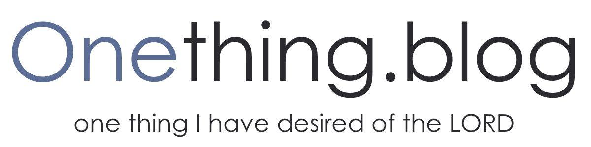Onething.blog