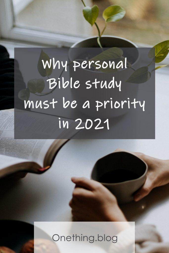 Bible and coffee mug
