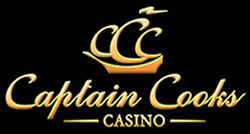 Captain Cooks is huge for the pokie fans