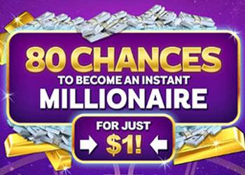 80 casino spins for a NZ$1 deposit