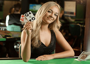 Live games with real dealers