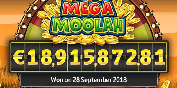 Biggest Mega Moolah jackpot winner - A world record