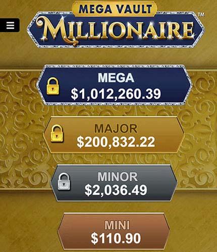 Jackpot wheel over 1 million