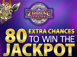 Zodiac Casino Mobile and Mega Moolah