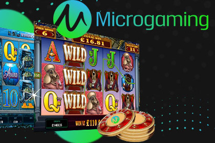 Microgaming Games from Casino Rewards