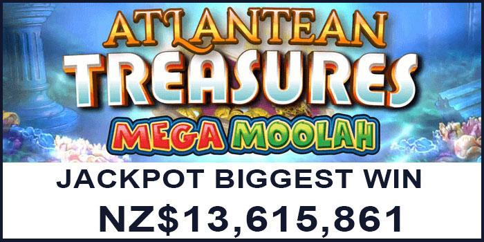 Biggest jackpot casino win in New Zealand