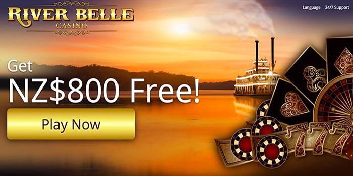 River Belle NZ casino site