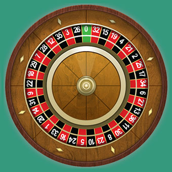 The wheel of French Roulette