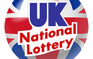 Credit cards are accepted at the UK national lottery