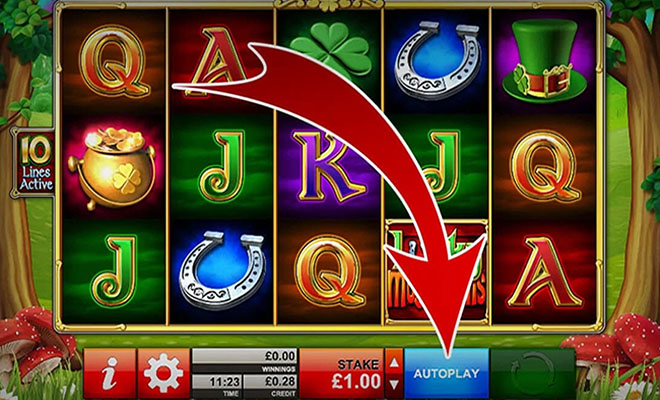 They will prohibit the Autoplay button on an online slot machine
