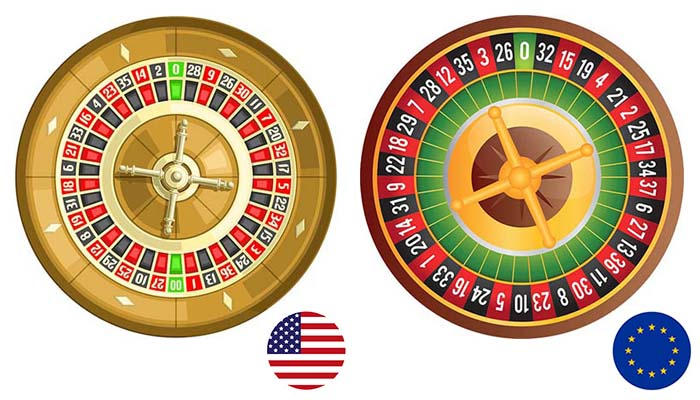 Difference between American Roulette and the European wheel