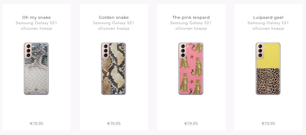 casimoda smartphone hoesjes