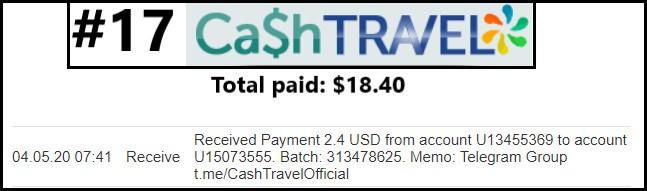 cashtravel payment
