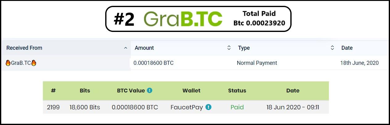 grab.tc payment