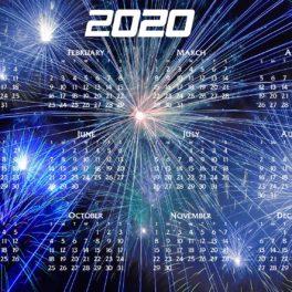 Game Calendar – 2020