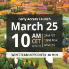 Win Steam Key for Dorfromantik on launch day every 30 minutes