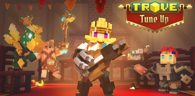 Trove Console Players Can Rock Out as the Bard Starting Today