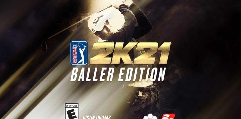 PGA TOUR® 2K21Baller Edition Teeing Off this October