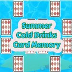 Summer Cold Drinks Card Memory
