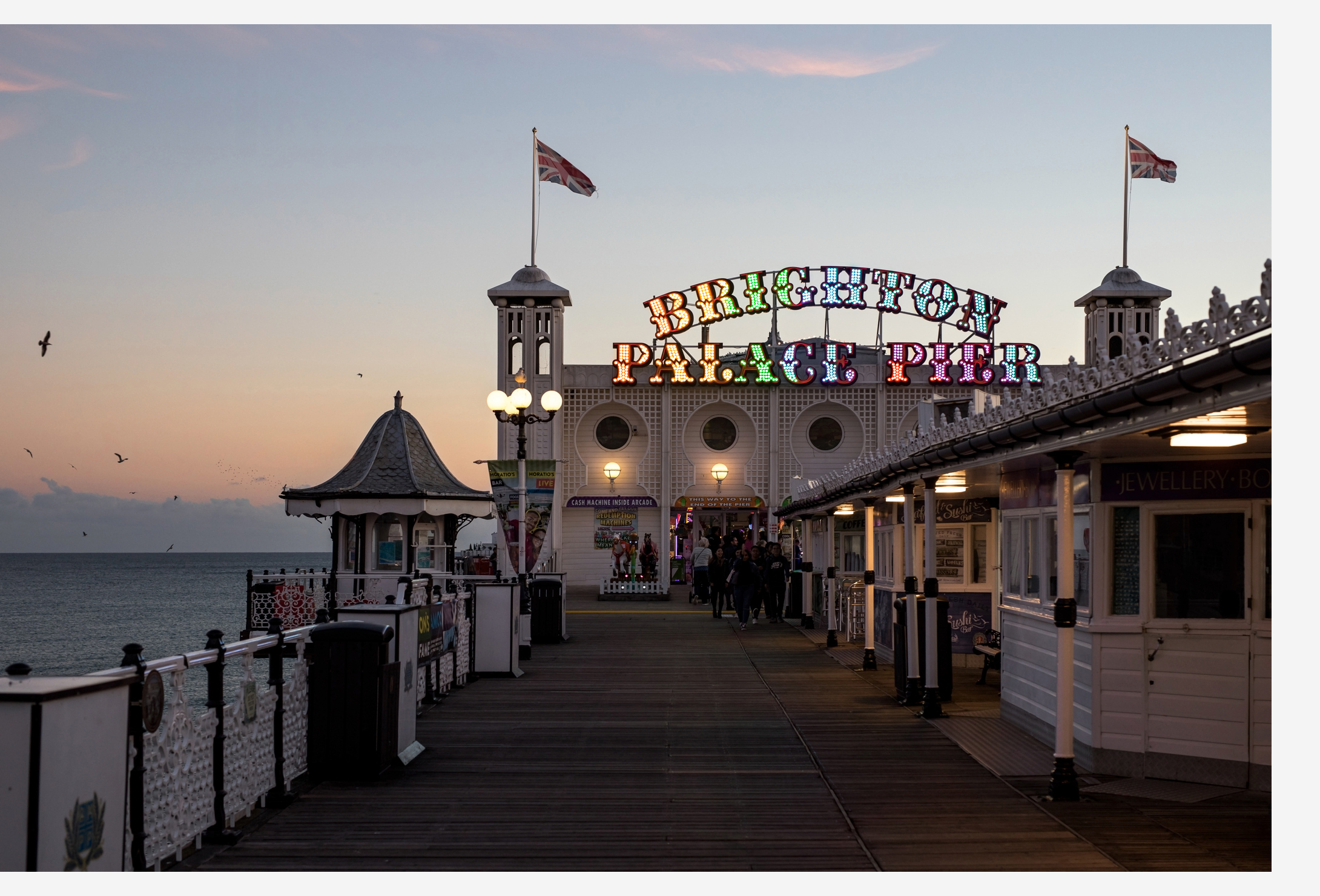 onthenorway brighton pier england