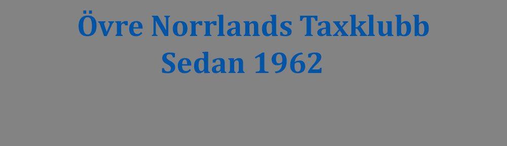 Övre Norrlands Taxklubb