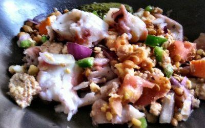 El gourmet saludable: salpicón de proteínas