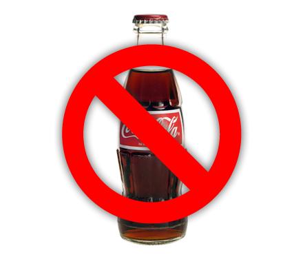 Tres propósitos: Sayonara Coca-Cola
