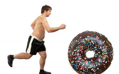 Aunque corras, no puedes comer todo lo que quieras
