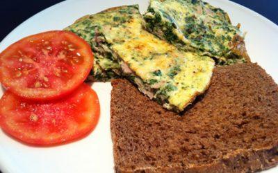 El gourmet saludable: desayuna fritatta