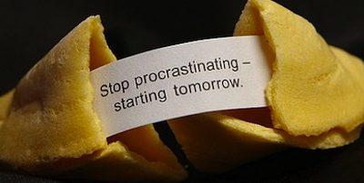 Vencer la procrastinación