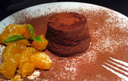 El gourmet saludable: pudding de queso y chocolate