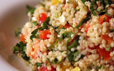 El gourmet saludable: ensalada de quínoa