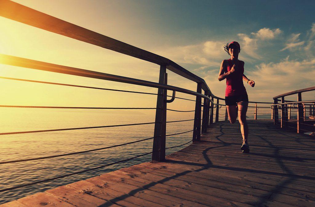Correr contra la depresión