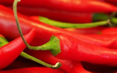 Come picante para perder grasa y vivir más años