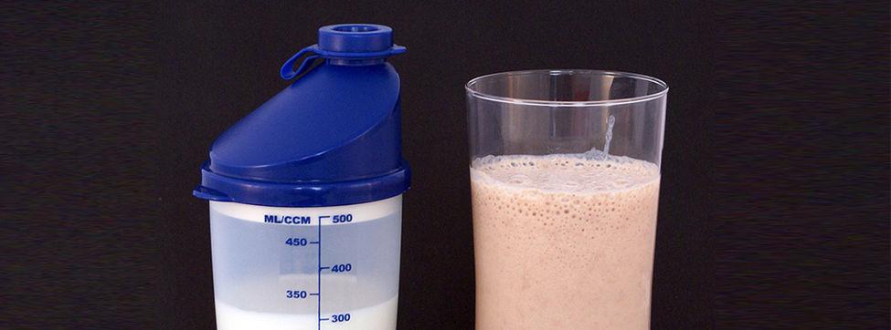 Los batidos de proteínas y los músculos