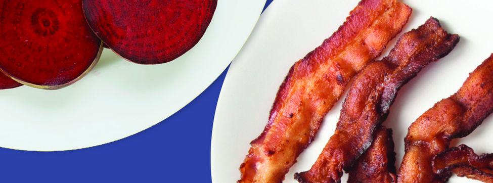 Los nitratos, el bacon, la remolacha y su relación con el cáncer