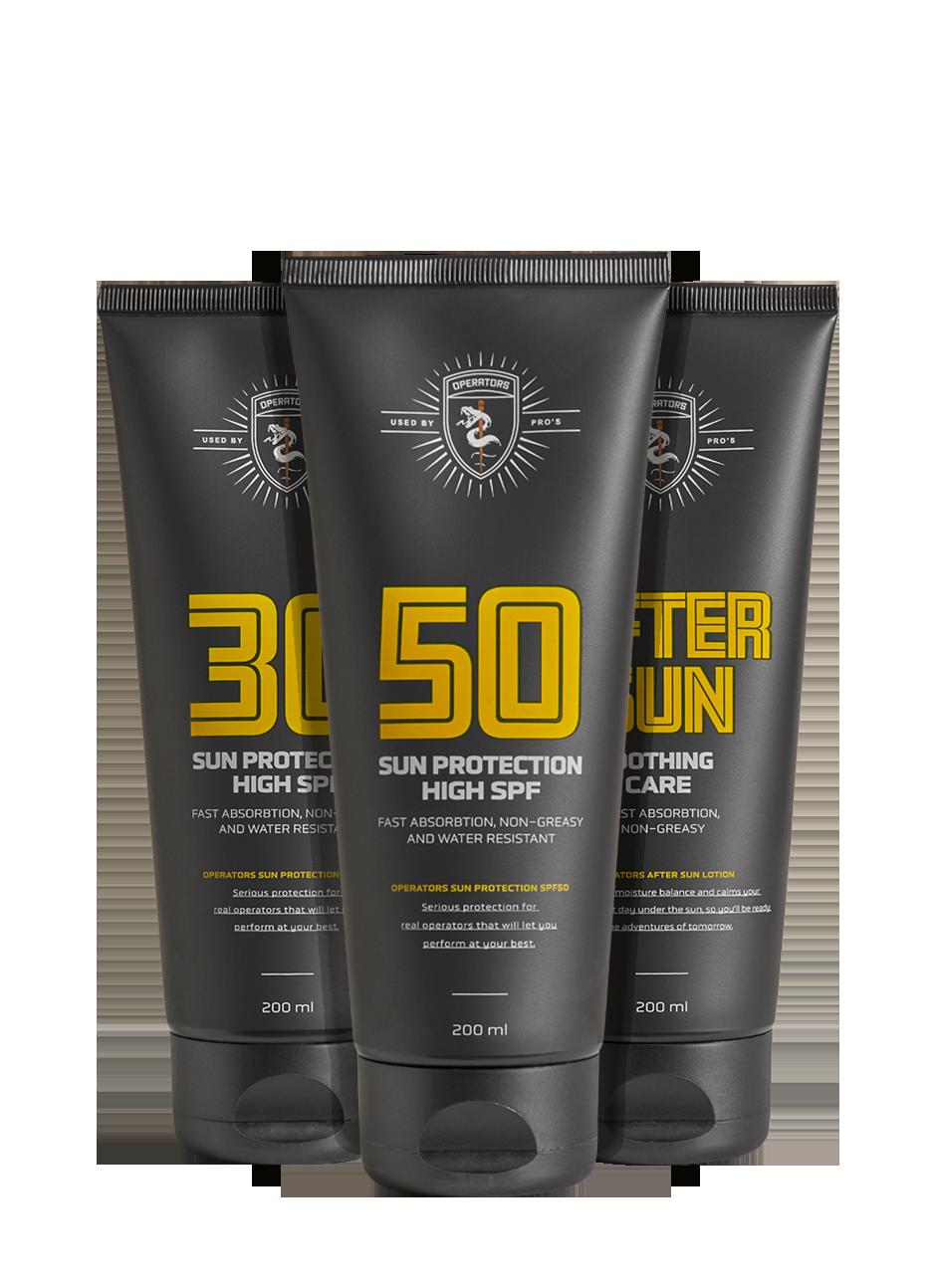 Sun protection SPF 30/50