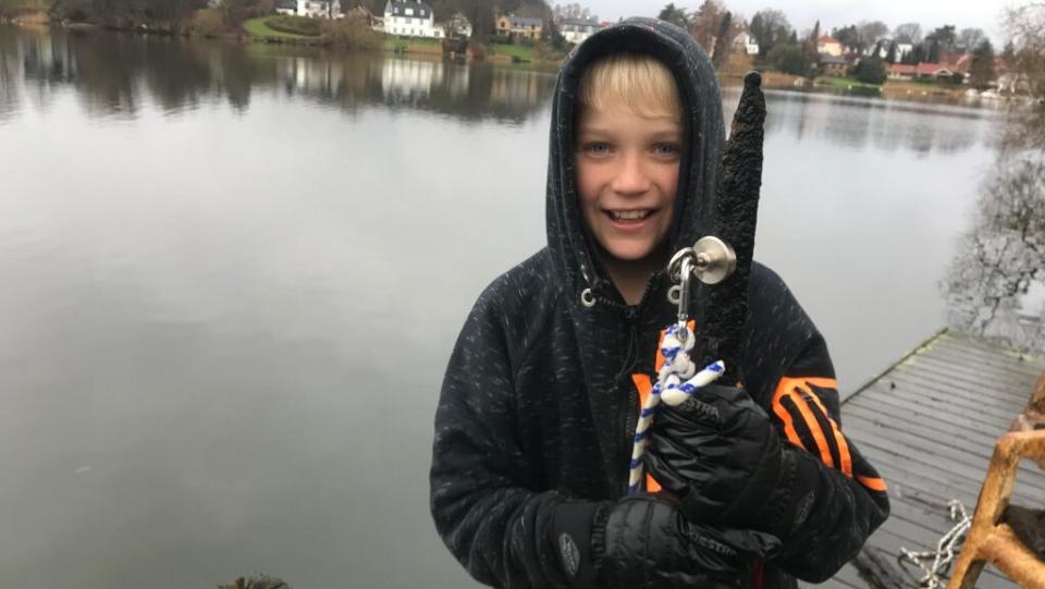 Opfinderskole - magnetfiskeri
