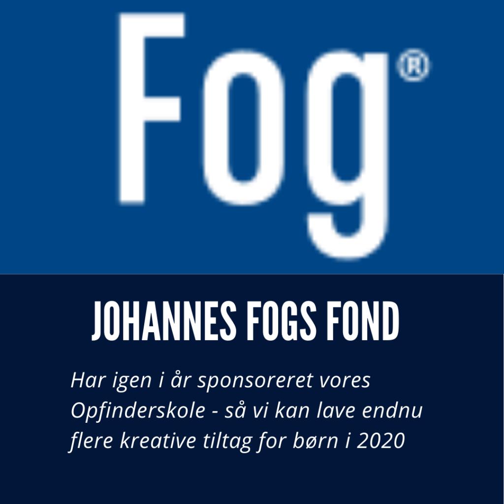 Johannes Fogs fond sponsorerer Opfinderskole