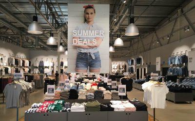 Shopping i Töcksfors Handelspark