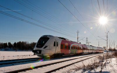 Reise med tog til og i Sverige